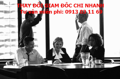 thay doi giam doc chi nhanh cong ty